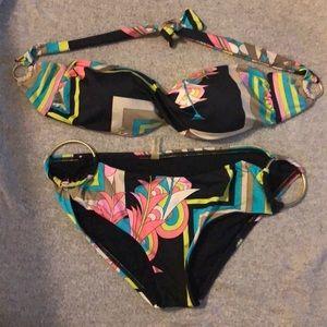 Vitamin A multi color bikini. Medium